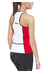 Profile Design Tri ID Top Women red/white